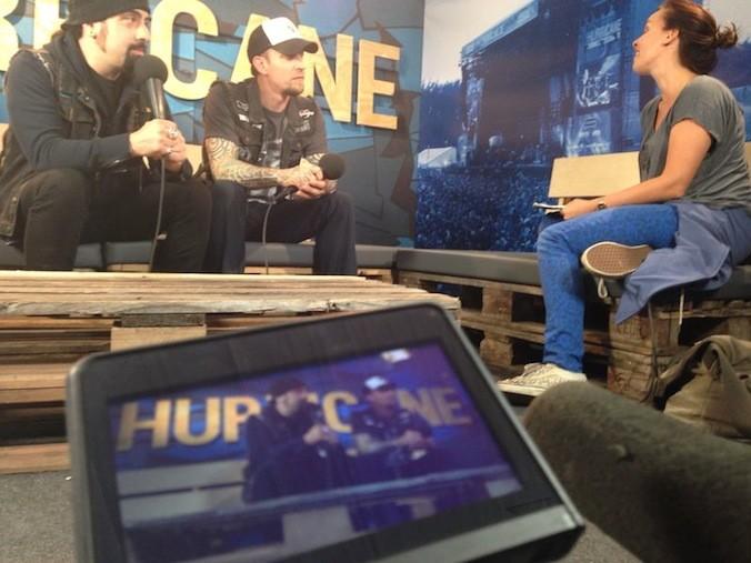 Hurricane - ARTE Interviews